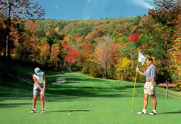 New York golf school at Holiday Valley Golf Course